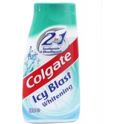 Colgate 2 in 1 Icey Blast Toothpaste & Mouthwash