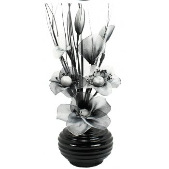 Creative Florals Mini Nylon -Black & White