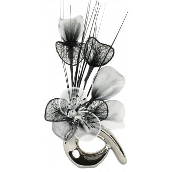 Creative Florals Mini Prism - Black & White