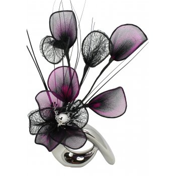 Creative Florals Mini Prism - Purple & Black