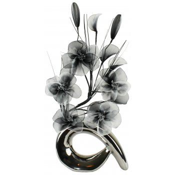 Creative Florals Prism - Black & White
