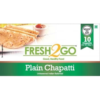 Fresh2Go Plain Roti - 480g x 12