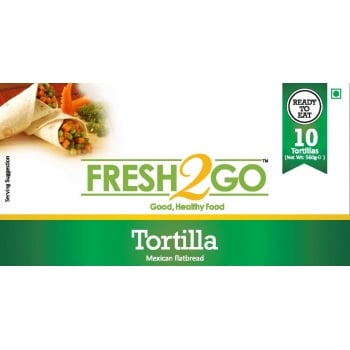 Fresh2Go Plain Tortilla