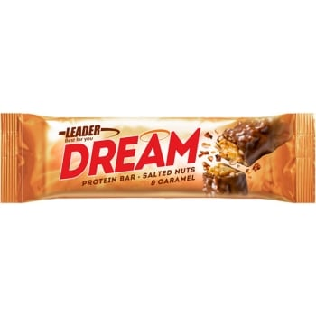 LEADER Dream Protein Bar - Salted Nuts & Caramel