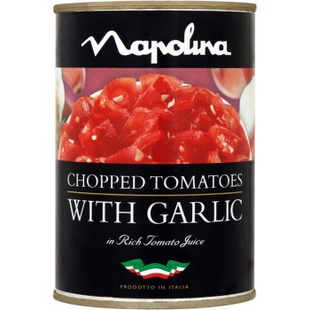 Napolina Chopped Tomatoes & Garlic