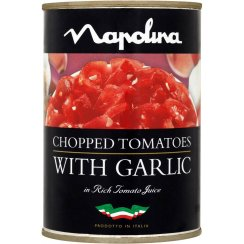 Chopped Tomatoes & Garlic