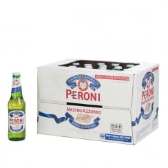 Nastro Azzurro Beer- 330 ml X 24 Bottles