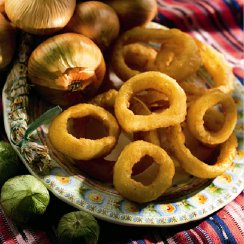 Onion Ring , Beer Battered