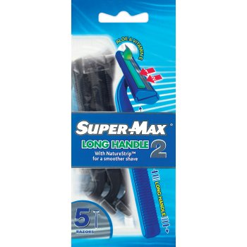 SuperMax Long Handle 2  enriched with Aloe & Vitamin E