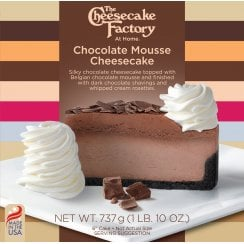 """6"""" Chocolate Mousse Cheesecake ( Uncut )"""