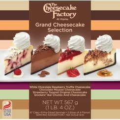 "6"" Grand Cheesecake Selection"