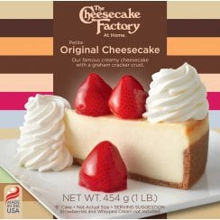 "6"" Original Cheesecake ( Uncut )"