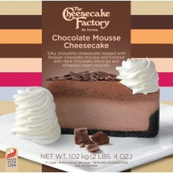 "7"" Chocolate Mousse Cheesecake ( 8 Pre-Sliced )"